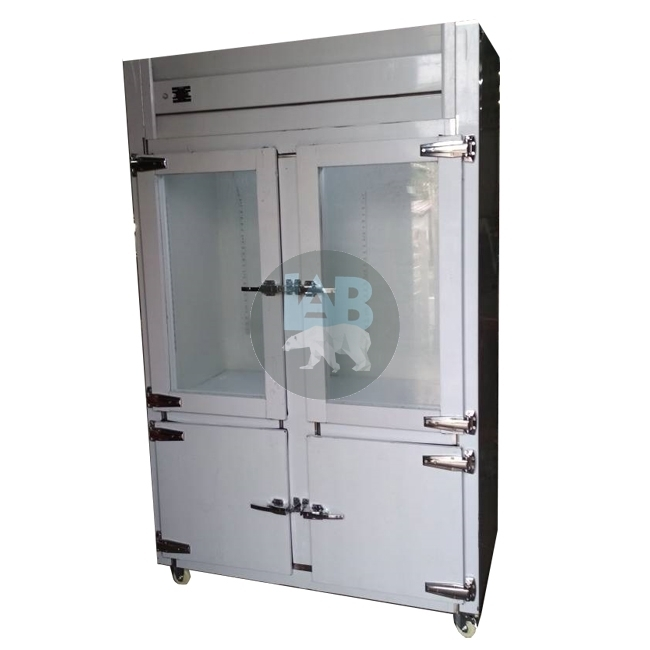 4 Door Stainless Steel Chiller / Freezer (Piping System)