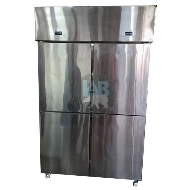 2 / 4 / 6 Door Stainless Steel Upright Chiller / Freezer
